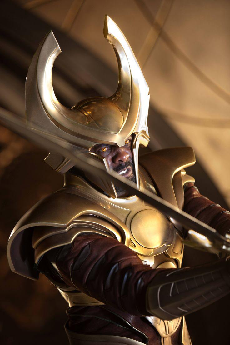 Heimdall (Idris Elba, Thor, 2011) Idris rocked in this movie!