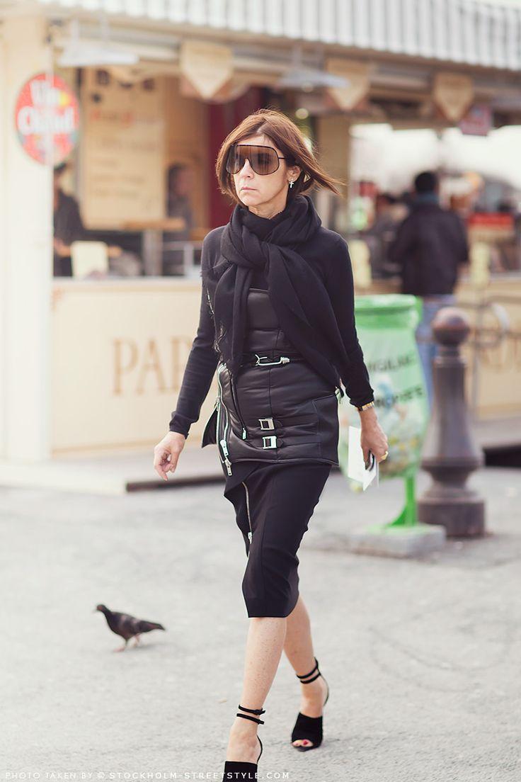 Carine Roitfeld Her Wardrobe Pinterest Ponerse Coser Y Estilo