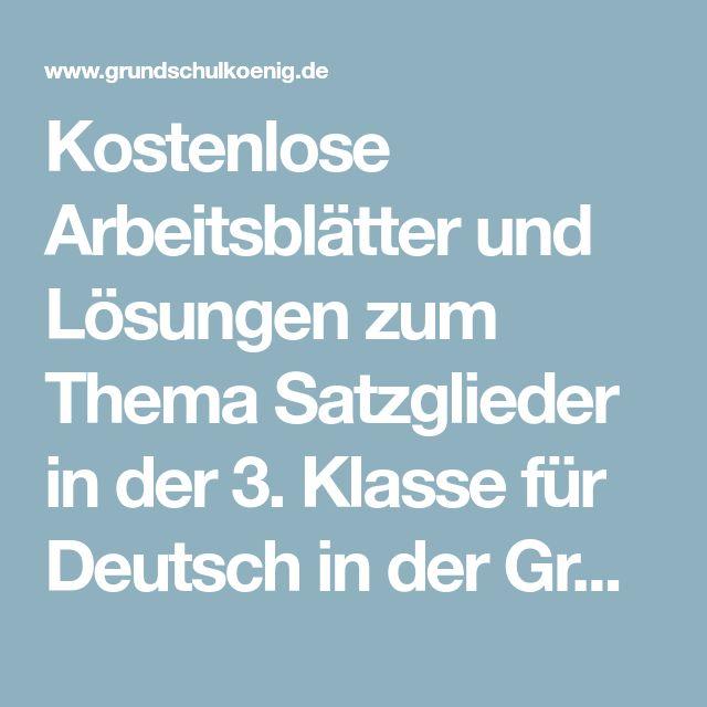 13 besten Schulmaterial Bilder auf Pinterest | Deutsch lernen ...