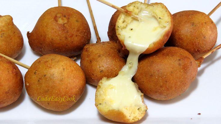 Жареный #сыр в кукурузном тесте. Вкусно, быстро и просто #LudaEasyCook