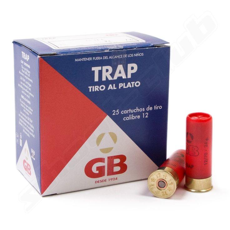 GB Trap Schrotpatronen Kal. 12/70 - 25 Schuss