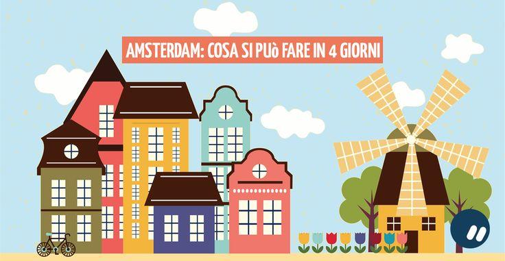 #Amsterdam in 4 giorni: un piccolo sogno che si realizza  #travel #guide #viaggi #instagram #rotterdam #muliniavento