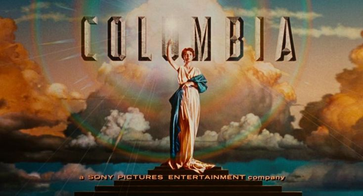 Columbia Pictures. This lady is Columbia, a personification of the US (an American equivalent of Britannia). The image is based on Evelyn Venable, an actress in the 1930's and 1940's