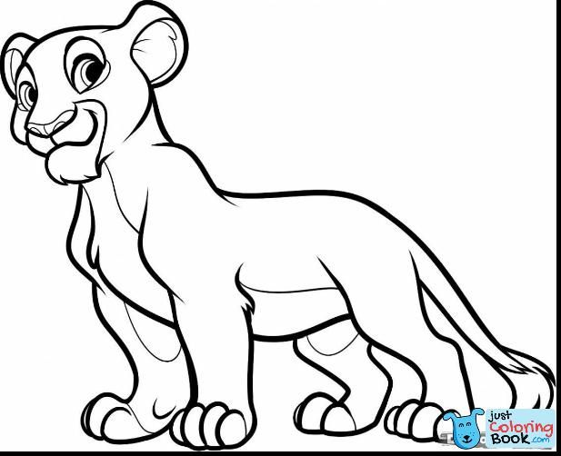 Best Free Lion King Scar Coloring Pages Design Coloring