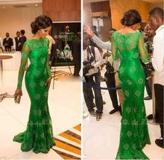 Best Prom Dress Real Picture Green Long Sleeves Prom Dress Aso Ebi Style Long Sheer Formal Mermaid Evening Gowns Lace Appliqued Prom Dress Prom Dress Canada From Fashion_online, $77.25| Dhgate.Com