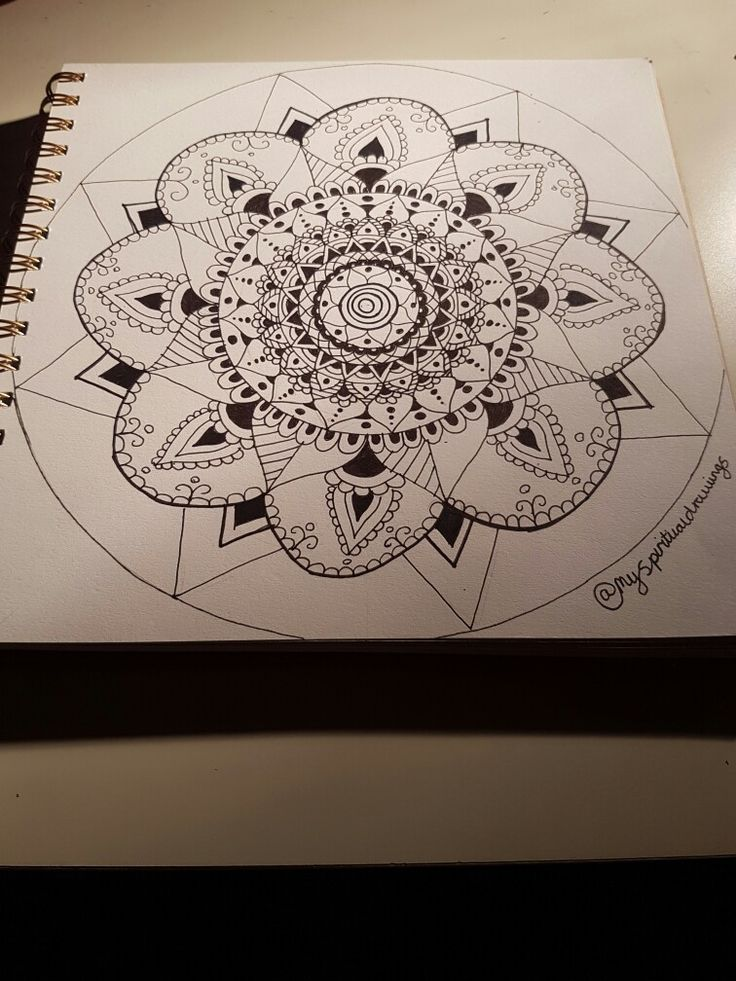 #mandala #drawing #art  #pretty #indian #spiritual #black #white