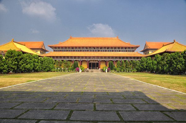 Day3-Fo Kuang Shan Monastery located in Kaohsiung, is the largest Buddhist monastery in Taiwan. #AviaPromo #Travelling