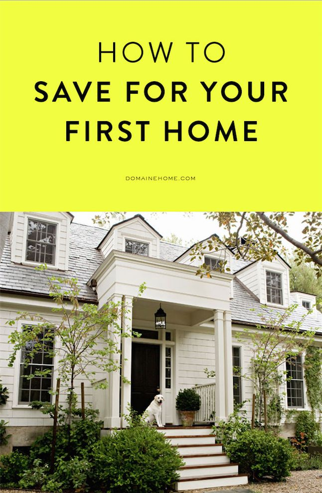 How to save up for a down payment on your first home // money management
