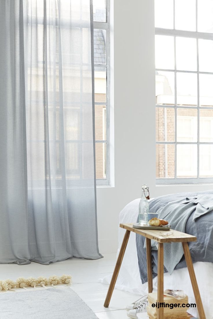 25 beste idee n over linnen gordijnen op pinterest for Verduisterende witte gordijnen