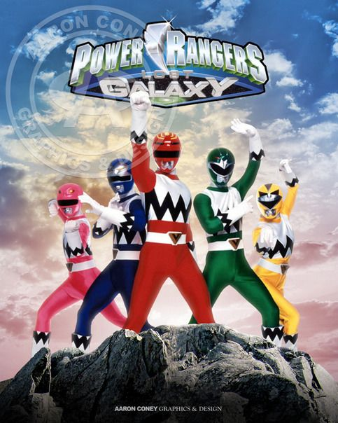 8 x 10 glossy print of the legendary Power Rangers Lost Galaxy, in honor of the 20th anniversary Power Rangers Super Megaforce, and the legendary war.