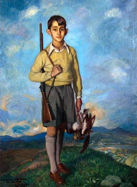 ignacio zuloaga retrato