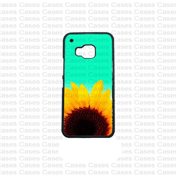 HTC M9 Case Htc One X case Sun flower Htc One M9 by KrezyCase