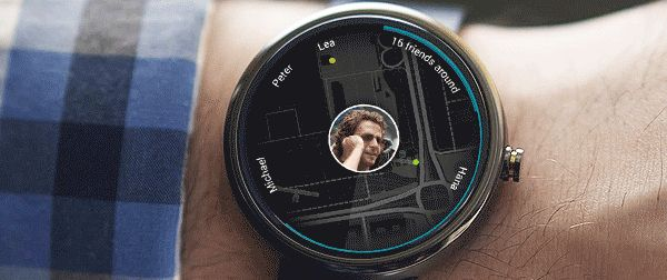 application concept for android wear on Behance
