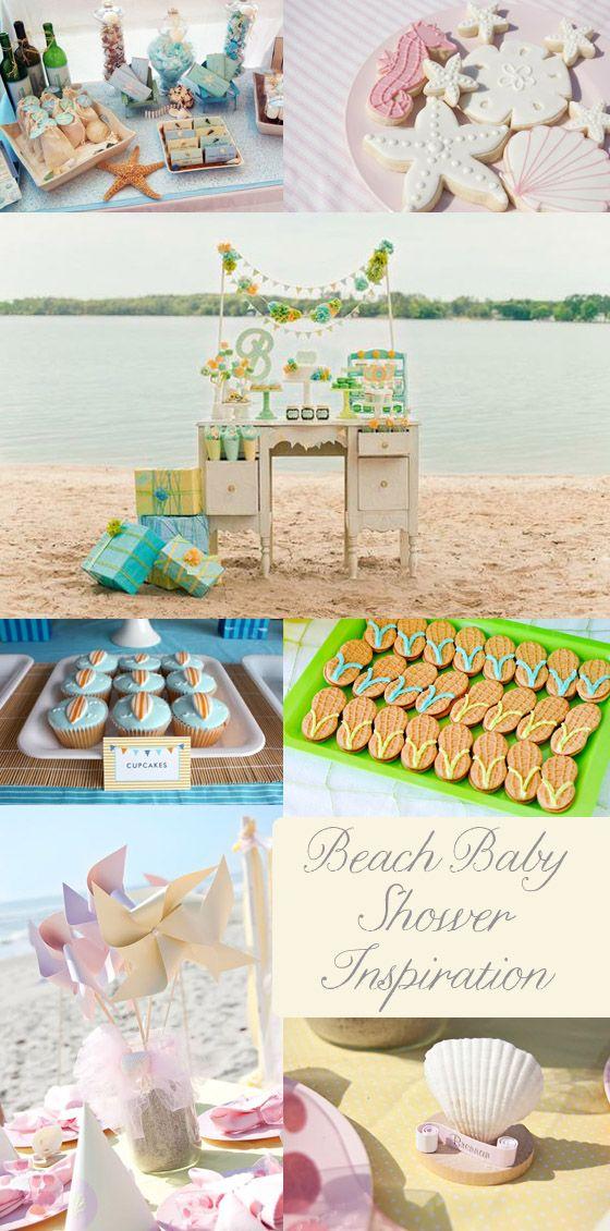 beach baby shower inspiration Beach Baby! {Baby Shower Inspiration}