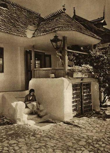Breaza,-pridvor - case traditionale romanesti