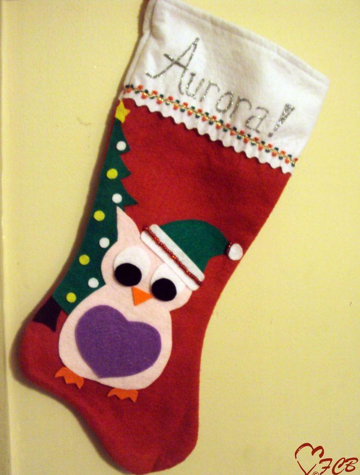 cute christmas stocking design