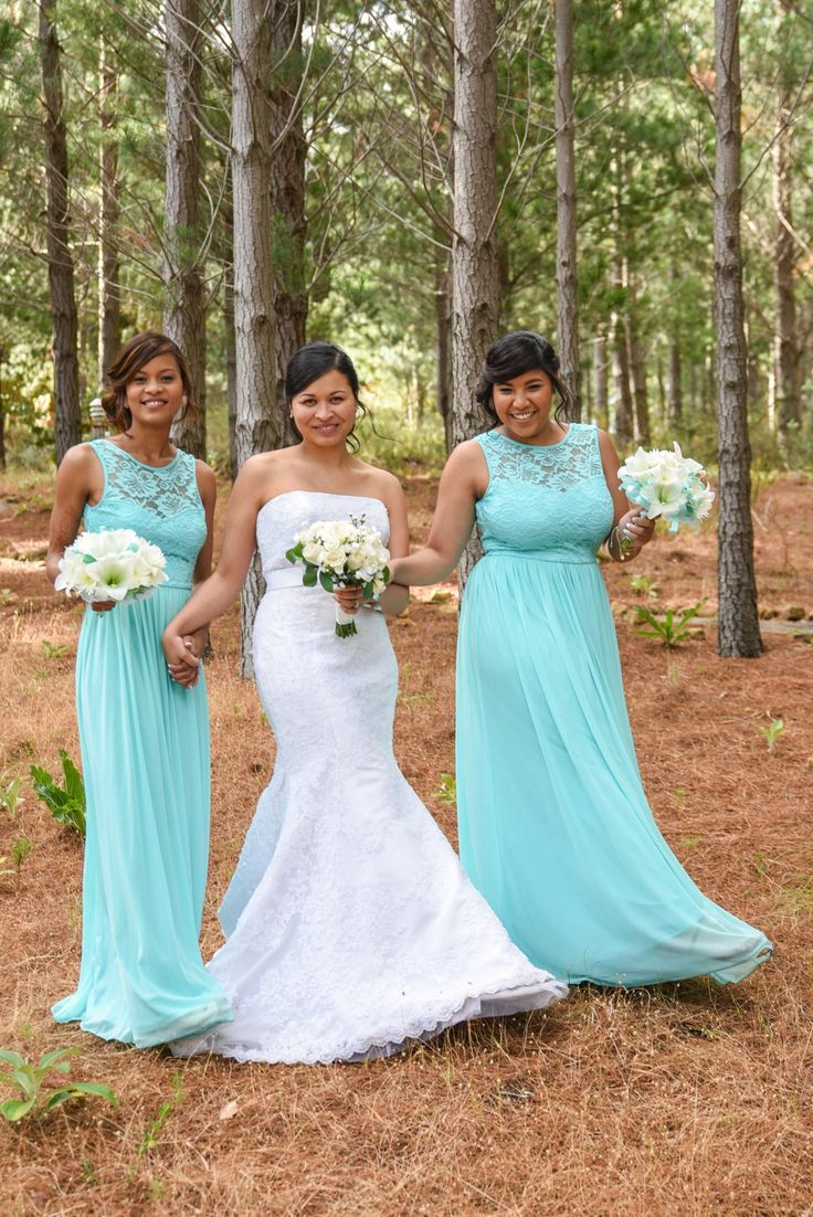 Pine forests--beautiful backdrops for family formals