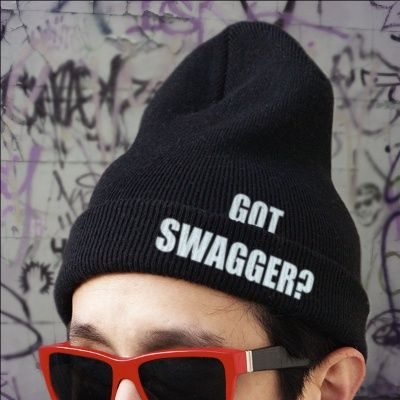 Got #swagger? #ImageChef can back you up with our new 'Custom Beanie' text template, snag it today: http://www.imagechef.com/t/74u0/Custom-Beanie