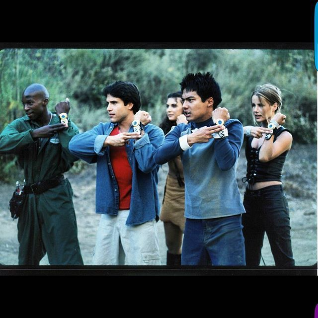 TBT to protecting the universe with my crew on Power Rangers Lost Galaxy! Planet…