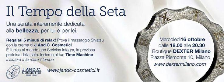 16 October 2013 The Silk Time - 16 Ottobre 2013 Il Tempo della Seta @DEXTER Milano #TimeMachine #Beauty #Silk #Time