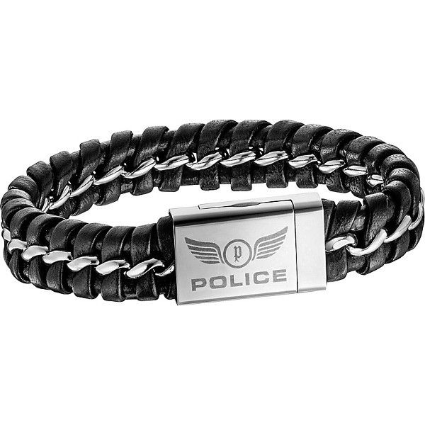 pulsera police confidence s14aap01b - 52,00€ http://www.andorraqshop.es/joyeria/police-confidence-s14aap01b.html