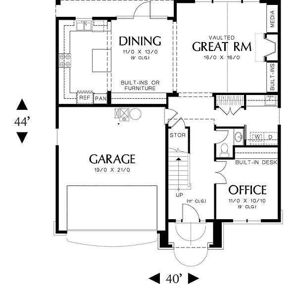 Starter Home Floor Plans Thefloors Co