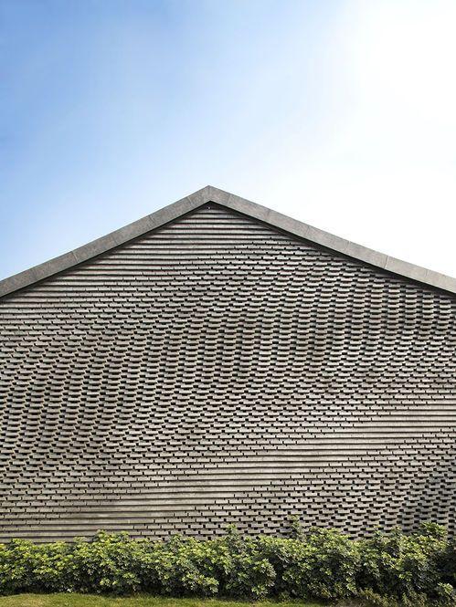Textura e ilusão Arquiteto: Archi Union Architects Fonte: designspiration