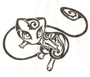 Pokemon tribal tattoo  BROOKE SLATON! I found this FOR YOU!!!