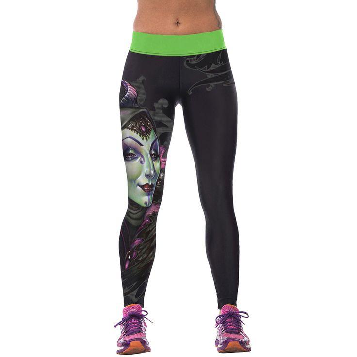 2016 nuove donne di modo a vita alta pantaloni di sport di fitness 3d stampato stretch in esecuzione fitness leggings in   Circostanza: 100% brandnew ed alta qualità Materiale: poliestere 88%, spandex 12% Tipo: leggings Stile: fashion 3d stada Leggings su AliExpress.com | Gruppo Alibaba