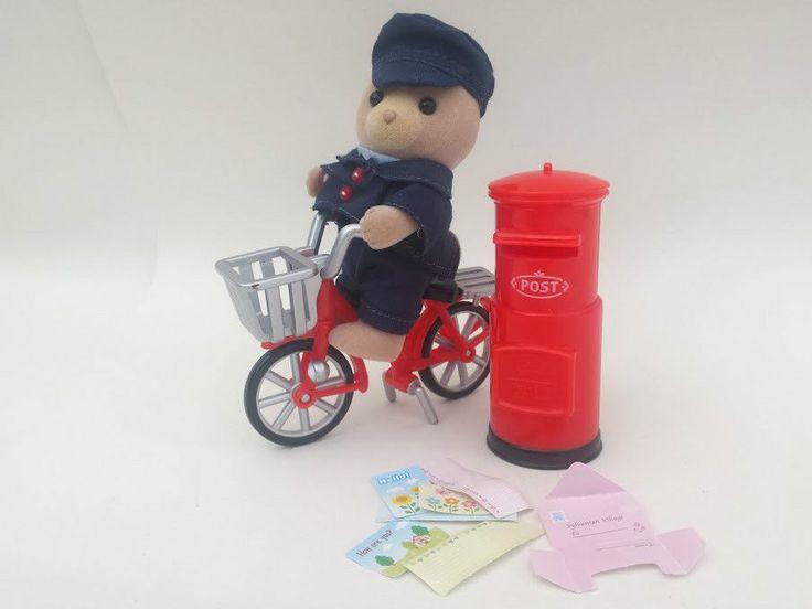 Sylvanian Families Village Postman Set Bike Post box. BUY IT HERE! in Dolls & Bears, Dolls, Clothing & Accessories, Fashion, Character, Play Dolls | eBay