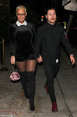 Amber Rose and Val Chmerkovskiy confirm dating rumors as they hold Hands in Los Angeles - http://www.thelivefeeds.com/amber-rose-and-val-chmerkovskiy-confirm-dating-rumors-as-they-hold-hands-in-los-angeles/