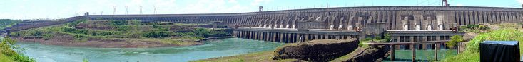 Itaipu Dam - Wikipedia, the free encyclopedia