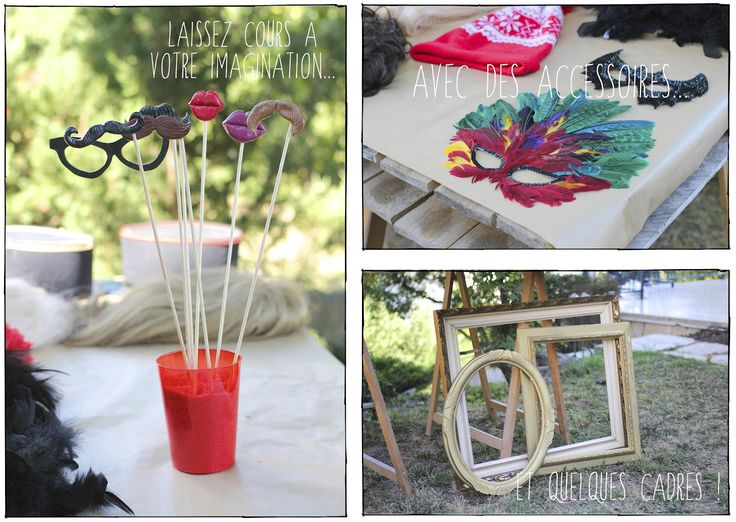DIY – Accessoires PhotoBooth | A way of travel