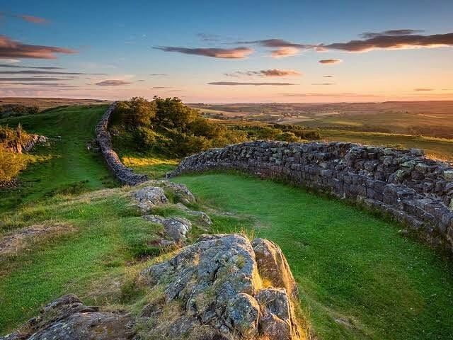 Ancient History On Instagram Hadrian S Wall It Was A Defensive Fortification In The Roman Prov Hadrians Wall Northumberland National Park Hadrian S Wall