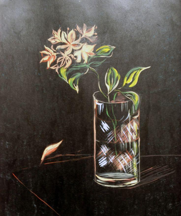 Hopelessness. Watercolor