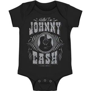 Johnny Cash Onesie