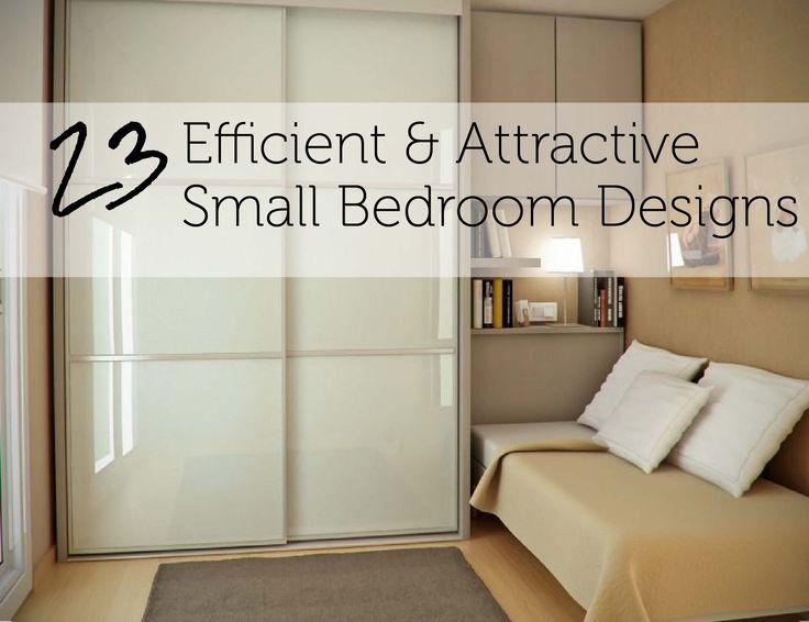 Interior Design Small Bedrooms Inspiration 101 Best Small Bedroom Design Ideas Images On Pinterest  Bedroom Design Ideas