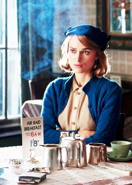 Joan Clarke - Keira Knightley in The Imitation Game, set during World War II (2014).