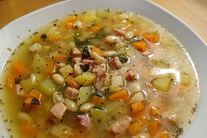 Westfälische weiße Bohnensuppe Omas Art 1