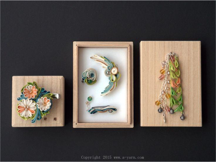 碧波 Aoha:作品: 野庵 yarn 着物小物のお店 (根付、帯留、かんざし、簪、和小物 等)