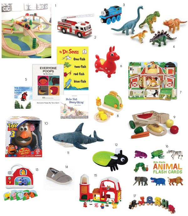 Great List Of Two Year Old Toys Gifts
