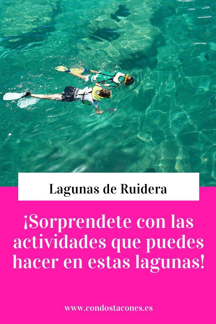 Lagunas De Ruidera Un Estupendo Destino Perfecto Para Bucear En Familia Condostacones En 2020 Turismo Activo Tips Para Viajar Turismo Cultural