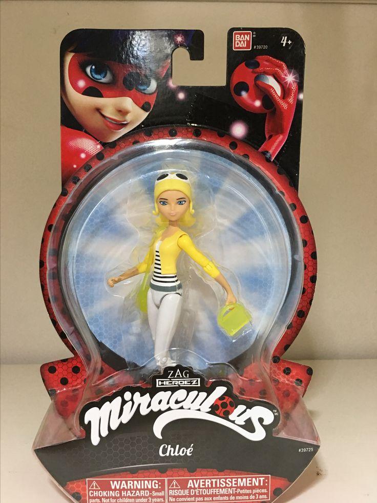 Miraculous Ladybug Chloé action figure. | Miraculous ...