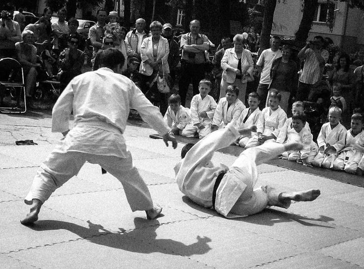 Pokaz sztuk walki / technik aikido w Międzychodzie | Martial Arts demonstration in Międzychód