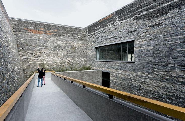 wang shu, Ningbo museum, chine