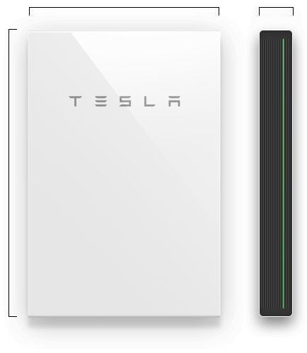 Compact, affordable and simple to install, Powerwall 2 charges during the day and powers your home in the evening when integrated with rooftop solar panels.