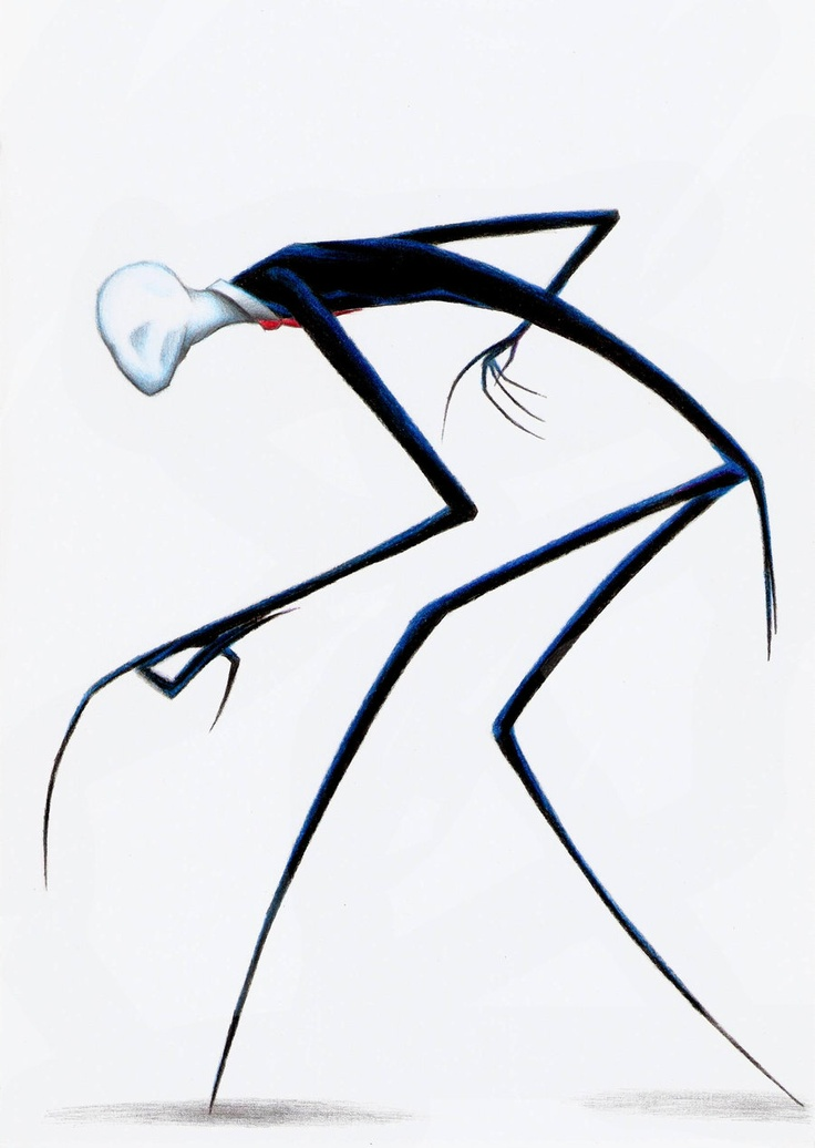 Slendy, bro, we need to talk. You obviously haven't been eating. I know your name is Slenderman but this is a step too far. How can you murder lost woodland travellers with those spindly arms? Yeah. That is what I though.