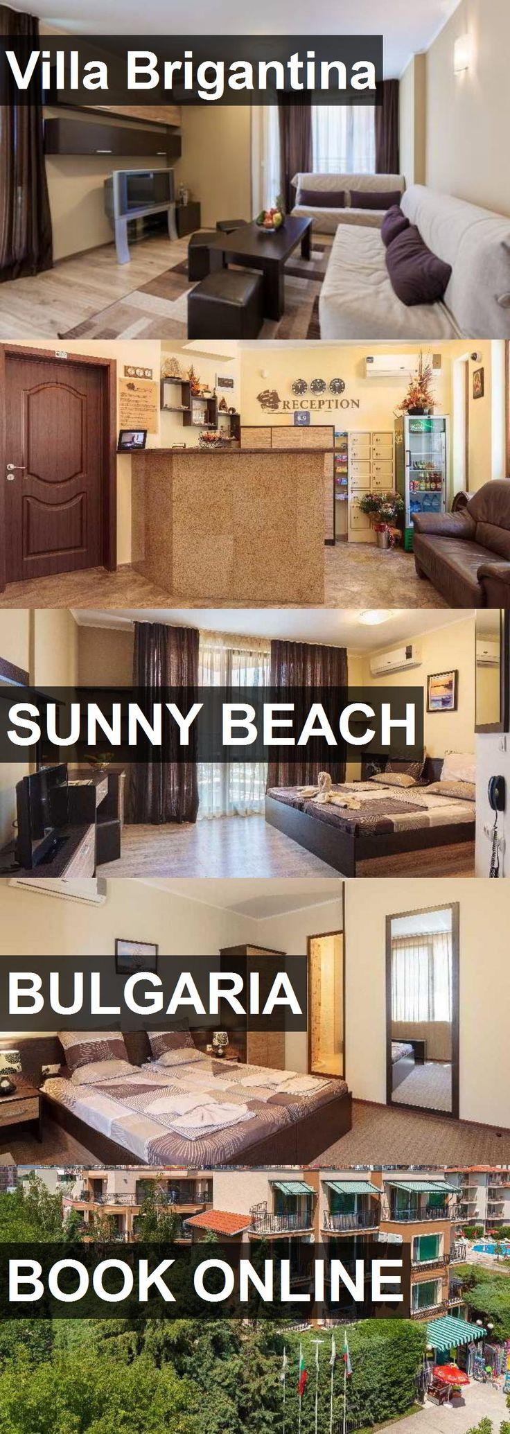 Hotel Villa Brigantina in Sunny Beach, Bulgaria. For more information, photos, reviews and best prices please follow the link. #Bulgaria #SunnyBeach #VillaBrigantina #hotel #travel #vacation