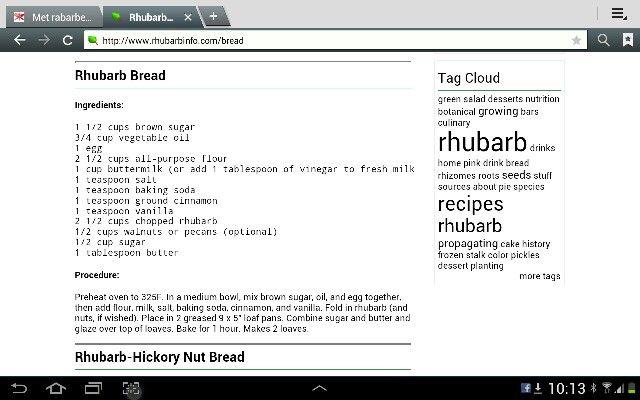 Rabarberbrood