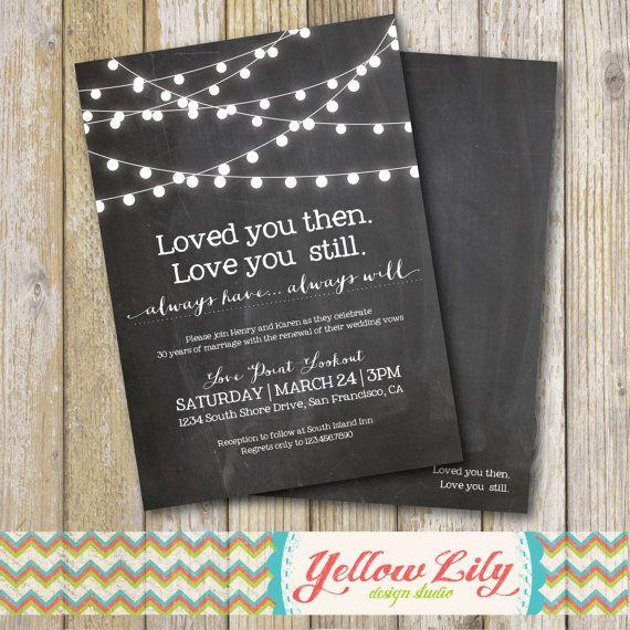 best 25+ vow renewal invitations ideas on pinterest, Wedding invitations